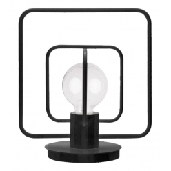 Aura kwadrat Lampka czarny mat 50082 SIGMA