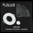 Oczko halogenowe EAST OPAL GU10 50W 301536 czarny POLUX - wysyłka 24h (na stanie 105 sztuk)