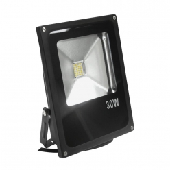 Naświetlacz LED 30W 300W zimna barwa światła, LPP30CWGB SMD IP65 POLUX- wysyłka 24h (na stanie 1 sztuka)