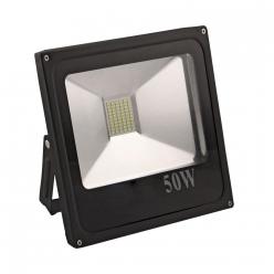 Naświetlacz LED 50W 500W zimna barwa światła, LPP50CWGB IP65 POLUX- wysyłka 24h (na stanie 1 sztuka)