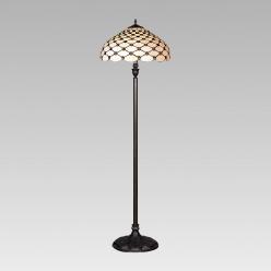 Lampa podłogowa witrażowa TIFFANY 1X60W E27 76 PREZENT