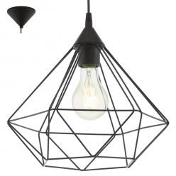 Lampa wisząca 1X60W E27 TARBES 94188 EGLO