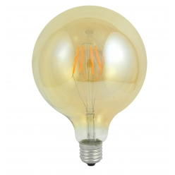 Żarówka dekoracyjna gwint E27 4W LED Amber 304544 POLUX/SANICO