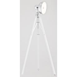 Lampa podłogowa 12W LED FOTO NEW 3356 biały/chrom Argon