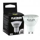 Żarówka LED SMD 7,5W 60W gwint GU10 500lm ciepła/żółta barwa światła POLUX/SANICO - wysyłka 24h