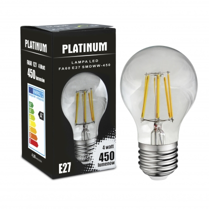 Żarówka dekoracyjna LED gwint E27 4,5W 400 lumenów POLUX/SANICO