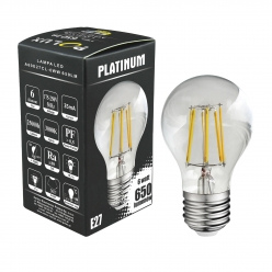 Żarówka dekoracyjna LED gwint E27 6,5W 650 lumenów POLUX/SANICO- wysyłka 24h (na stanie 4 sztuki)