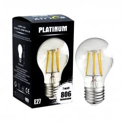 Żarówka dekoracyjna LED gwint E27 7,5W 806 lumenów POLUX/SANICO- wysyłka 24h (na stanie 5 sztuk)