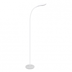 Lampa podłogowa LED SWAN 6,5W BIAŁY 3000K POLUX/SANICO- wysyłka 24h (na stanie 1 sztuka)