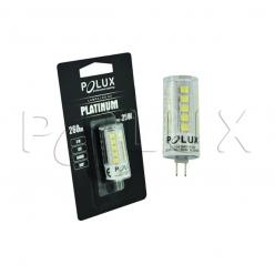 Żarówka 3,3W LED gwint G4 12V 260lm zimna/biała barwa światła POLUX/SANICO