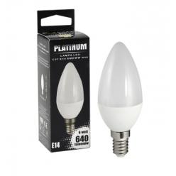 Żarówka POLUX LED 7W gwint E14 640lm ciepła/żółta barwa światła POLUX/SANICO- wysyłka 24h (na stanie 6 sztuk)