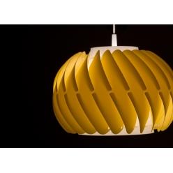 Lampa wiszaca TWISTER 1X75W E27 różne kolory, wykonana ręcznie