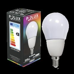 Żarówka RGB gwint E14 4,5W 350 lumenów 311405 POLUX/SANICO