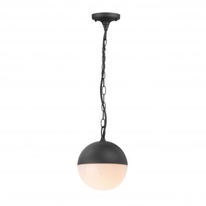 Lampa wisząca 1X60W E27 LIGURIA czarna POLUX/SANICO