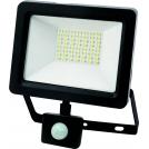 Naświetlacz LED z czujnikiem ruchu 30W 300W zimna barwa światła, LPP30CWGB IP65 POLUX- wysyłka 24h (na stanie 1 sztuka)