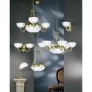 Lampa wisząca MILAGRO 1X60W E27, ŚR:30cm 90009