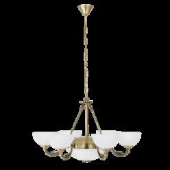 Lampa wisząca SAVOY 6X40W,2X60W E14,27 82749 EGLO